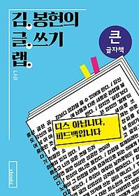 김봉현의 글쓰기 랩 (큰글자책)