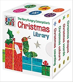 """<font title=""""The Very Hungry Caterpillar's Christmas Library (Board book)"""">The Very Hungry Caterpillar's Christmas...</font>"""