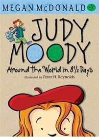 """<font title=""""Judy Moody #7: Around the World in 8 1/2 Days (Paperback/ 영국판)"""">Judy Moody #7: Around the World in 8 1/2...</font>"""