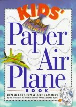 Kids' Paper Airplane Book with Poster (Paperback)