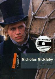 "<font title=""Dominoes 2 : Nicholas Nickleby (Paperback + MultiROM)"">Dominoes 2 : Nicholas Nickleby (Paperbac...</font>"