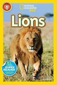 """<font title=""""National Geographic Readers Level 1: Lions (Paperback)"""">National Geographic Readers Level 1: Lio...</font>"""