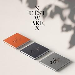 뉴이스트 W - WAKE,N [Ver. 1 + Ver. 2 + Ver. 3][패키지]