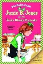 """<font title=""""Junie B. Jones and the Yucky Blucky Fruitcake (Prebind / Reprint Edition)"""">Junie B. Jones and the Yucky Blucky Frui...</font>"""