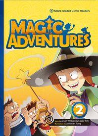 "<font title=""Magic Adventures 2 : Story Book + Audio CD:3 (Paperback, 학부모가이드/단어카드 포함)"">Magic Adventures 2 : Story Book + Audio ...</font>"