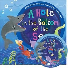 """<font title=""""노부영 송 애니메이션 세이펜 A Hole in the Bottom of the Sea (Paperback+CD)"""">노부영 송 애니메이션 세이펜 A Hole in th...</font>"""
