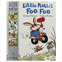 "<font title=""Time for a Story: Little Rabbit Foo Foo Book & DVD (Paperback+DVD)"">Time for a Story: Little Rabbit Foo Foo ...</font>"