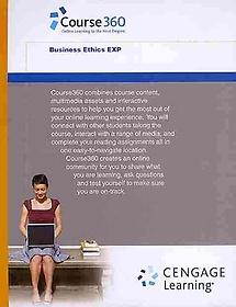 "<font title=""Course360 Business Ethics Printed Access Card (Hardcover)"">Course360 Business Ethics Printed Access...</font>"