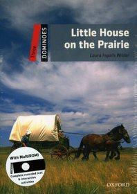 """<font title=""""Dominoes 3 : Little House on the Prairie (Paperback + MultiROM)"""">Dominoes 3 : Little House on the Prairie...</font>"""