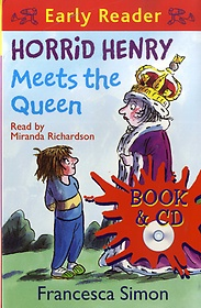 """<font title=""""Horrid Henry Meets the Queen : Early Reader (Paperback +CD)"""">Horrid Henry Meets the Queen : Early Rea...</font>"""