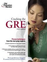 "<font title=""Cracking the GRE, 2009 Edition (Graduate Test Prep) (Paperback)"">Cracking the GRE, 2009 Edition (Graduate...</font>"