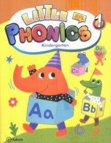 Little Phonics 1 : Studentbook (Paperback+CD:1)