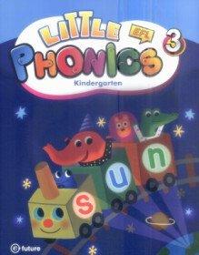 Little Phonics 3 : Studentbook (Paperback+CD:1)