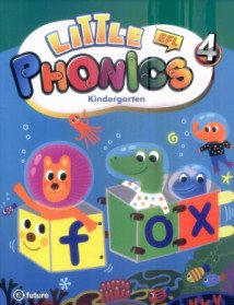 Little Phonics 4 : Studentbook (Paperback+CD:1)