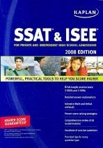 Kaplan SSAT & ISEE 2008 Edition (Paperback)