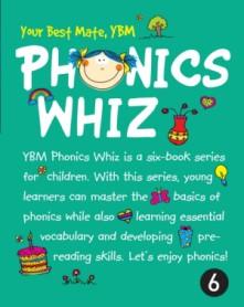 YBM Phonics Whiz 6 (Paperback + CD:2)