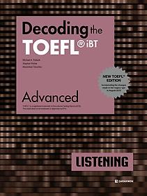 "<font title=""Decoding the TOEFL iBT LISTENING Advanced (New TOEFL Edition)"">Decoding the TOEFL iBT LISTENING Advance...</font>"