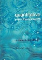 "<font title=""Quantitative Psychological Research: A Student"