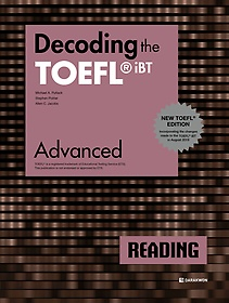 "<font title=""Decoding the TOEFL iBT READING Advanced (New TOEFL Edition)"">Decoding the TOEFL iBT READING Advanced ...</font>"