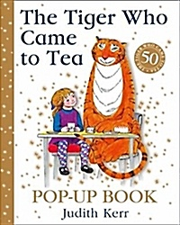 """<font title=""""The Tiger Who Came to Tea Pop-Up Book (Hardcover/ 50th Anniversary edition) """">The Tiger Who Came to Tea Pop-Up Book (H...</font>"""