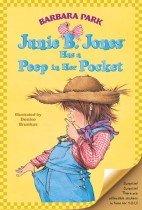 "<font title=""Junie B. Jones Has a Peep in Her Pocket (Prebind / Reprint Edition)"">Junie B. Jones Has a Peep in Her Pocket ...</font>"