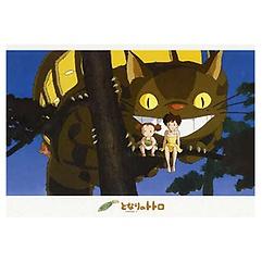토토로 - 고양이버스와 나무위에서(500피스)