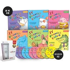 """<font title=""""JY Phonics Kids 풀세트 1~6 + 세이펜 800S 8G (Book:6+Audio CD:6)"""">JY Phonics Kids 풀세트 1~6 + 세이펜 800S...</font>"""