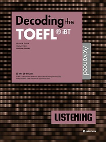 "<font title=""Decoding the TOEFL iBT LISTENING Advanced"">Decoding the TOEFL iBT LISTENING Advance...</font>"