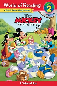"""<font title=""""Mickey and Friends: A 3-in-1 Listen-Along Reader (Paperback)"""">Mickey and Friends: A 3-in-1 Listen-Alon...</font>"""