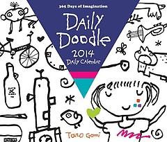 Daily Doodle 2014 Daily Calendar