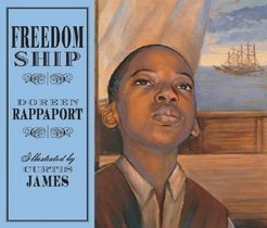 Freedom Ship (Hardcover/ Picture/Wordless)