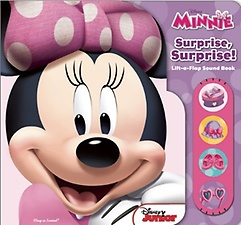 "<font title=""Minnie Mouse: Surprise, Surprise! (Board Book)"">Minnie Mouse: Surprise, Surprise! (Board...</font>"