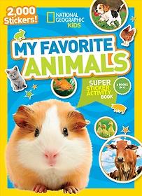 "<font title=""My Favorite Animals Super Sticker Activity Book (Paperback)"">My Favorite Animals Super Sticker Activi...</font>"