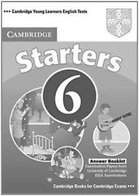 """<font title=""""Cambridge Young Learners English Tests 6 Starters: Answer Booklet (Paperback)"""">Cambridge Young Learners English Tests 6...</font>"""