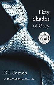 """<font title=""""Fifty Shades of Grey  ( Fifty Shades Trilogy #01 ) (Paperback)"""">Fifty Shades of Grey  ( Fifty Shades Tri...</font>"""