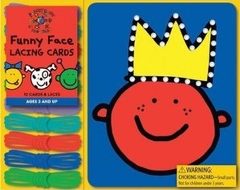 """<font title=""""Todd Parr Funny Face Lacing Cards (Board Book/Cards)"""">Todd Parr Funny Face Lacing Cards (Board...</font>"""