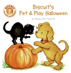 Biscuit's Pet & Play Halloween (Board book)