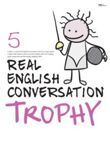 """<font title=""""Real English Conversation Trophy 5 (Paperback + CD:2)"""">Real English Conversation Trophy 5 (Pape...</font>"""