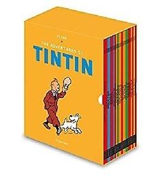 "<font title=""땡땡의 모험 원서 23권 세트 Tintin Boxed Set (Paperback 23권, 영국판)"">땡땡의 모험 원서 23권 세트 Tintin Boxed ...</font>"