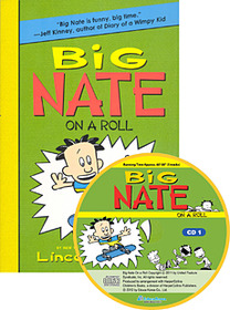 "<font title=""Big Nate on a Roll (Paperback +Audio CD:2)"">Big Nate on a Roll (Paperback +Audio CD:...</font>"
