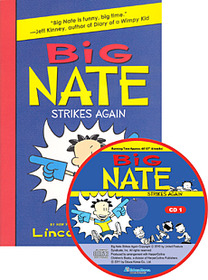 "<font title=""Big Nate Strikes Again (Paperback +Audio CD:2)"">Big Nate Strikes Again (Paperback +Audio...</font>"