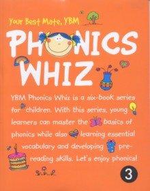 YBM Phonics Whiz 3 (Paperback + CD:2)