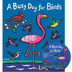 """<font title=""""[노부영] A Busy Day for Birds (paperback+CD)"""">[노부영] A Busy Day for Birds (paperback...</font>"""