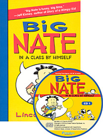 "<font title=""Big Nate In a Class by Himself (Paperback +Audio CD:2)"">Big Nate In a Class by Himself (Paperbac...</font>"