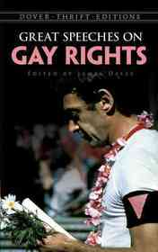Great Speeches on Gay Rights (Paperback)