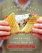 Simple Italian Sandwiches: Recipes from America's Favorite Panini Bar (Hardcover)
