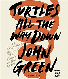 """<font title=""""Turtles All the Way Down (CD / Unabridged)"""">Turtles All the Way Down (CD / Unabridge...</font>"""