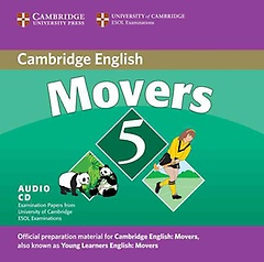 """<font title=""""Cambridge Young Learners English Tests Movers 5 Audio CD: Examination Papers from the University of Cambridge ESOL Examinations (CD/ 도서별매) """">Cambridge Young Learners English Tests M...</font>"""