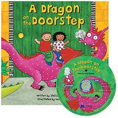 "<font title=""노부영 송 애니메이션 A Dragon on the Doorstep (Paperback + Hybrid CD)"">노부영 송 애니메이션 A Dragon on the Doo...</font>"