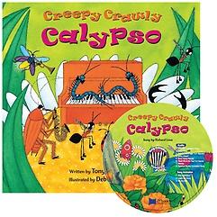 "<font title=""노부영 송 애니메이션 Creepy Crawly Calypso (Paperback + Hybrid CD)"">노부영 송 애니메이션 Creepy Crawly Calyp...</font>"